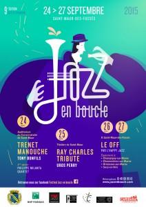 Affiche Jazz En Boucle